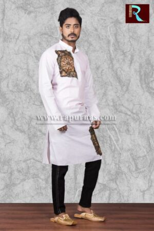 Cotton Kurta with a trendy look1