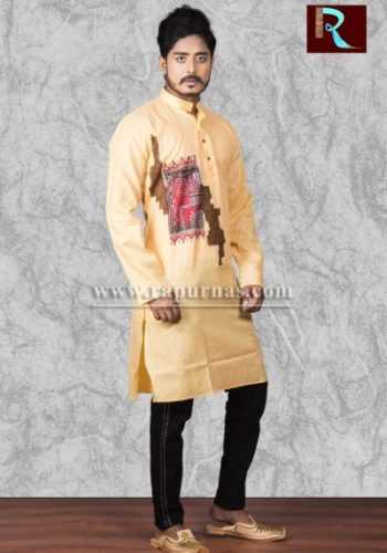 Cotton Kurta with awesome painting1