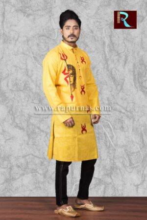 Cotton Kurta with ethnic painting