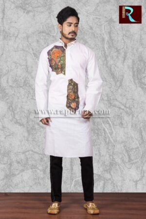 Cotton Kurta with exquisite painting