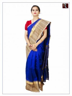 Ethnic and Classy Pure Ghicha Silk Saree