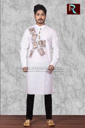 Fashionable Cotton Kurta