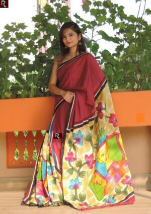 Latest Design Handloom Saree