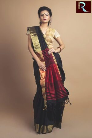 Stylish Ghicha Silk Saree1