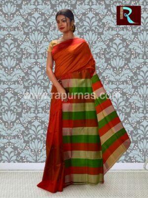 Awesome Bishnupuri Silk 3D Katan Saree1