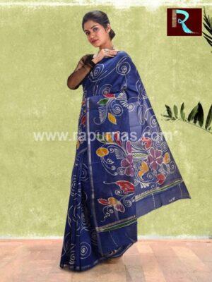 Chanderi Batik Saree for special occasion1