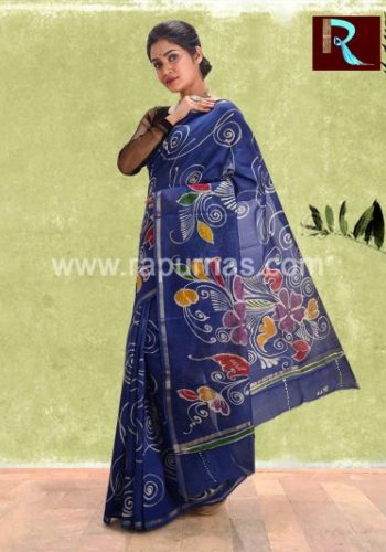 Chanderi Batik Saree for special occasion1