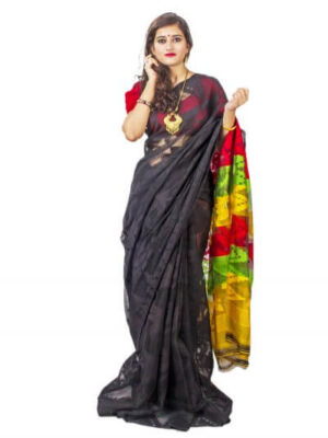 Classy Soft Dhakai Jamdani Saree