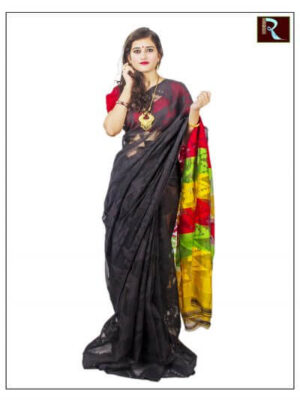Classy Soft Dhakai Jamdani Saree1