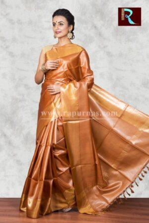 Exquisite Pure Tussar Silk Saree for all occasion1