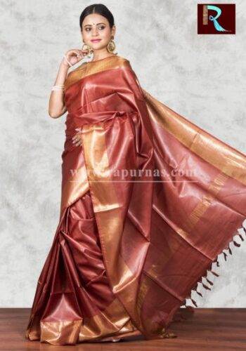 Exquisite Pure Tussar Silk Saree for party wear1