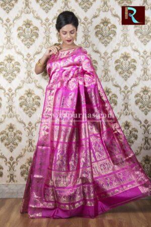 Majestic Baluchari Silk Saree