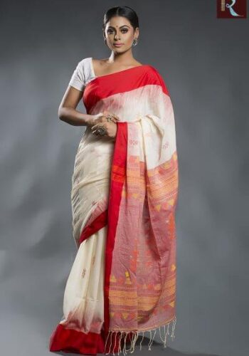 Organic Cotton Handloom Saree