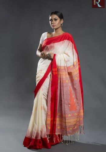 Organic Cotton Handloom Saree1