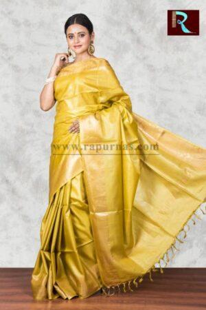 Pure Tussar Silk Saree for special ocassion