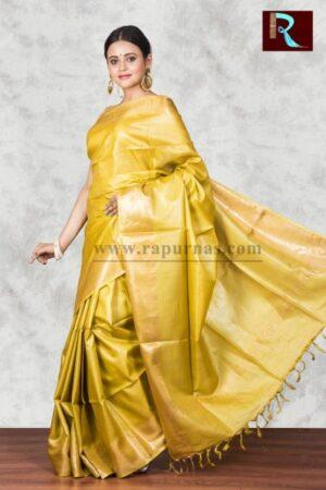 Pure Tussar Silk Saree for special ocassion1