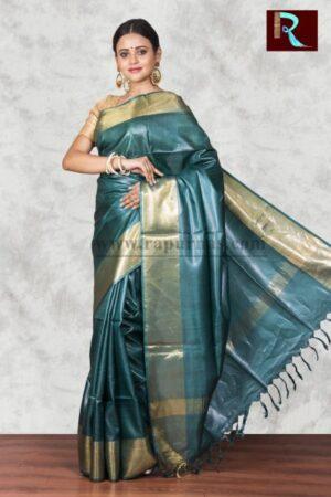Pure Tussar Silk Saree of exclusive color