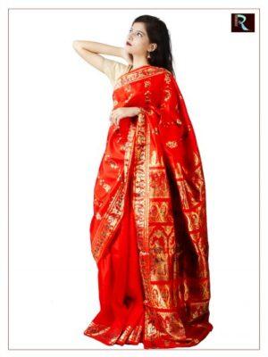 Swarnachari Silk Sarees from Bengal