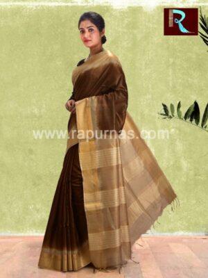 Tussar Silk Saree with rare look