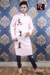 Cotton Kurta with Fabric painting7