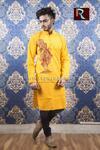 Cotton Kurta with Fabric painting18