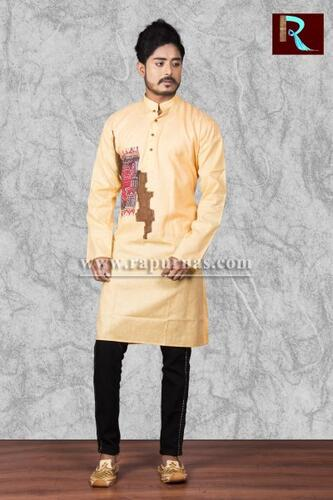 Cotton Kurta with awesome painting