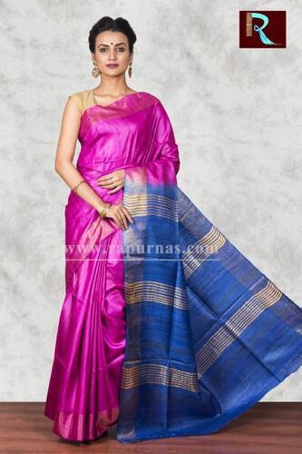 Fashionable Pure Ghicha Silk Saree