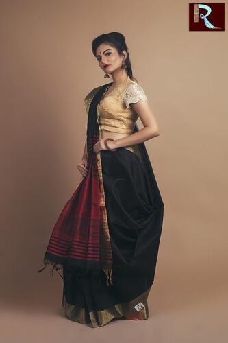 Stylish Ghicha Silk Saree