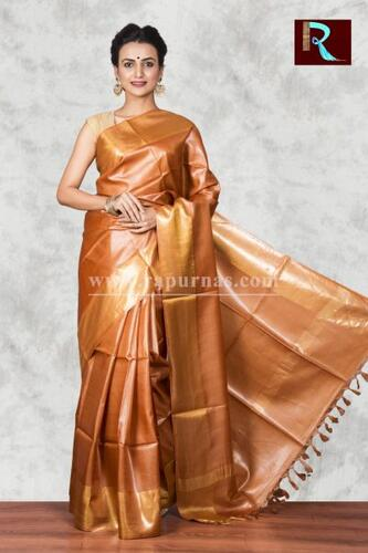 Exquisite Pure Tussar Silk Saree for all occasion
