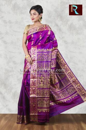 Baluchari Silk Saree of rare color