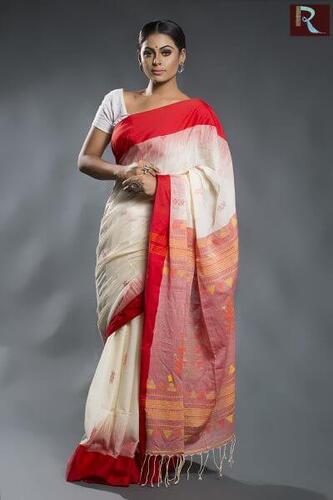 Organic Cotton Handloom Saree